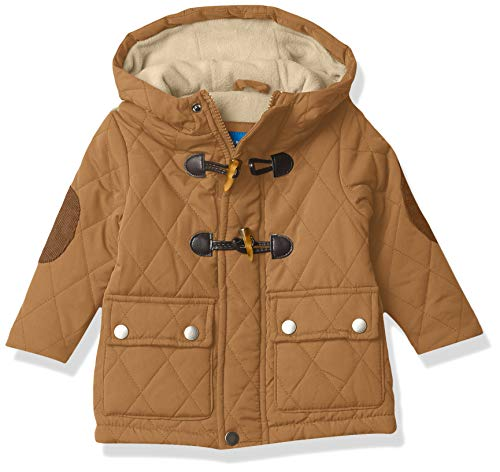 Perry Ellis Baby Boys Quilted Puffers, Ermine, 12M