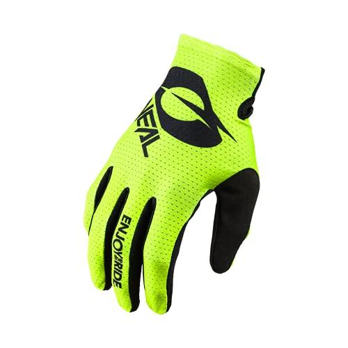 O'NEAL   Fahrrad- & Motocross-Handschuhe   MX MTB DH FR Downhill Freeride   Langlebige, Flexible Materialien, belüftete Handoberseite   Matrix Glove   Erwachsene   Schwarz Neon-Gelb   Größe XL