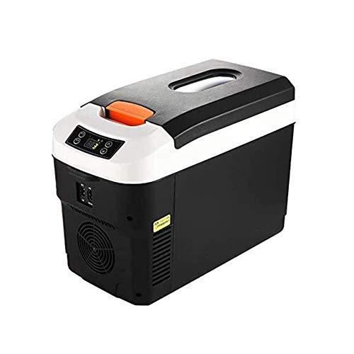 BIYLL Nevera Termoeléctrica Portátil, 12L Nevera Portátil Refrigerador de Coche 24 V / 12 V / 220-240 V, para el Coche para Acampar de Camiones Camión de Larga Distancia Que Conduce Viajes.