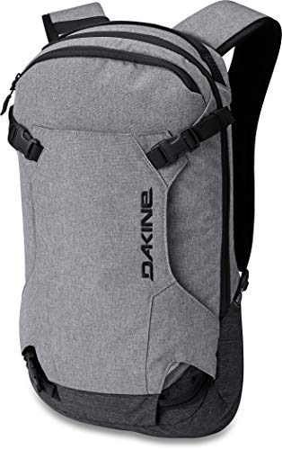 Dakine Heli Pack 12L Sac à Dos Homme Greyscale FR : Taille Unique (Taille Fabricant : Taille Unique)