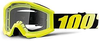 Unbekannt 100% Kids Cross Gafas The Strata Neon Yellow–Transparente