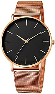 Xieifuxixxxnnssb women's watches Simplicity Modern Quartz Watch Women Mesh Stainless Steel Bracelet High Quality Casual Wr...
