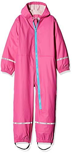 Playshoes Baby-Jungen Regen-Overall Regenhose, Rosa (Pink 18), 74