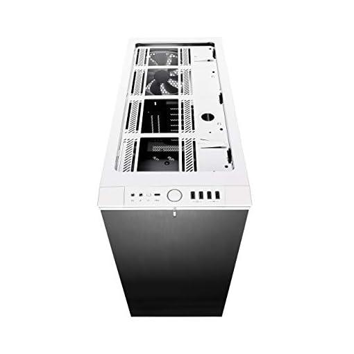 Fractal Design Define R6 USB-C Escritorio Blanco - Caja de ordenador (Escritorio, PC, Aluminio, Acero, Blanco, ATX,EATX… 10