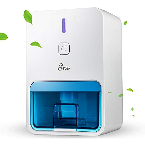 Learn More About Jese Small Dehumidifier for Bathroom, Electric Quiet Mini Room Dehumidifier for 150...