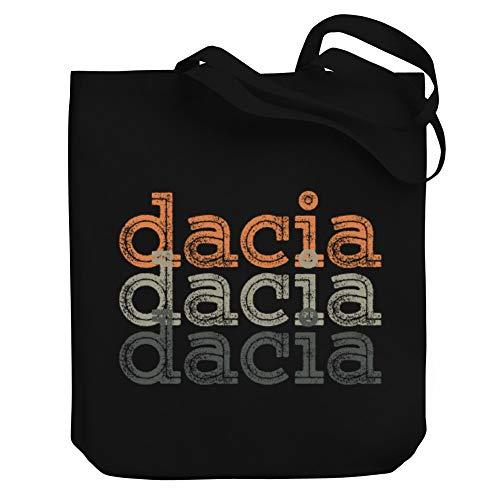 """Teeburon Dacia Repeat Retro Bolsa de Lona 10.5"""" x 16"""" x 4"""""""