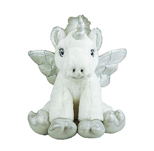 Personalized Long Message Recordable 15 Inch Talking Teddy Bear Unicorn w/ 60 Seconds of Recording Time.