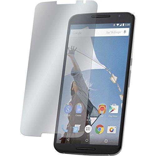PhoneNatic 4 x Pellicola Protettiva Antiriflesso Compatibile con Google Nexus 6 Pellicole Protettive