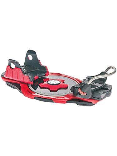 F2 Herren Snowboard Step In Bindung Intec Titanium red