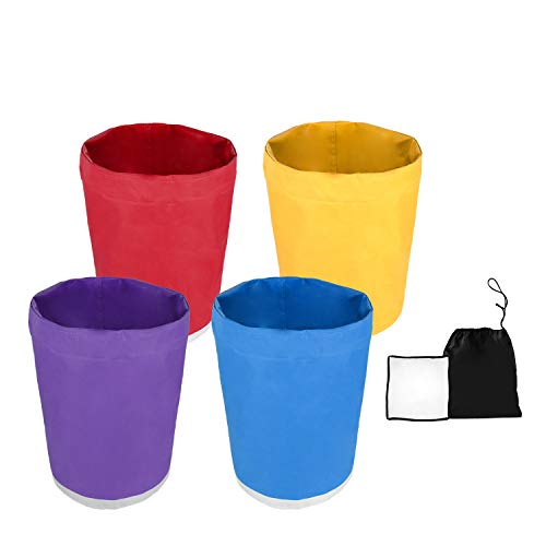 VIVOSUN 1-Gallon 4-Bag Herbal Ice Bubble Hash Bag Essense Extractor Kit Filtration Bags/Set