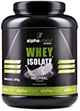 Whey Protein Isolate Neutral - H²O-optimiert - 90% Protein! -