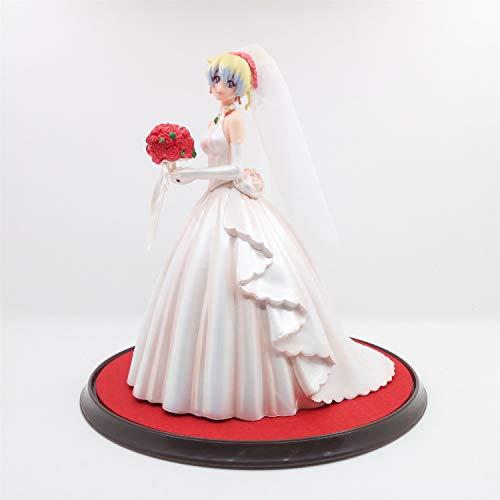 LAD Gurren Lagann: Nia Teppelin(Wedding Dress ver) 22cm PVC Action Figure Statue Limited Collection Popular Cartoon Anime Manga Doll Peripherals