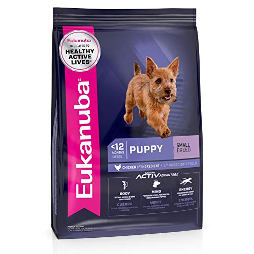 Eukanuba Puppy Small Breed Dry Dog Food, 15...