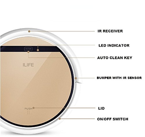iLife V5 PRO cabezal de CHUWI inteligente robot aspirador para ...