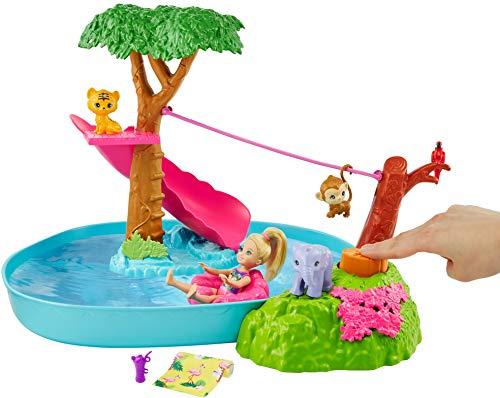 """Barbie GTM85 - Barbie und Chelsea """"Der verrückte Geburtstag"""" Poolparty-Spielset"""