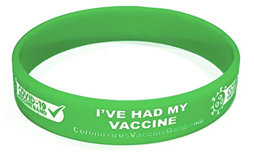 Coronavirus Vaccine Awareness Wristband - I've had My Vaccine