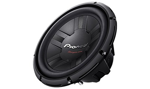 Pioneer Champion TS-W1211D4 12-inch Dual Voice Coil Subwoofer (Black)