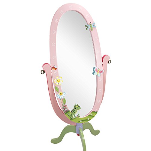Espejo infantil de cuerpo entero Magic Garden Fantasy Fields de madera W-8968A