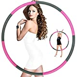 Hoola Hoops for Adults Weight Loss - Weighted Hoola Hoop,Weighted Exercise Hoola Hoops for Kids