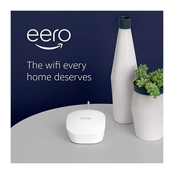 Amazon eero mesh wifi router 6 fast standalone router - the eero mesh wifi router brings up to 1,500 sq. Ft. Of fast, reliable wifi to your home. Works with alexa - with eero and an alexa device (not included) you can easily manage wifi access for devices and individuals in the home, taking focus away from screens and back to what's important. Easily expand your system - with cross-compatible hardware, you can add eero products as your needs change.