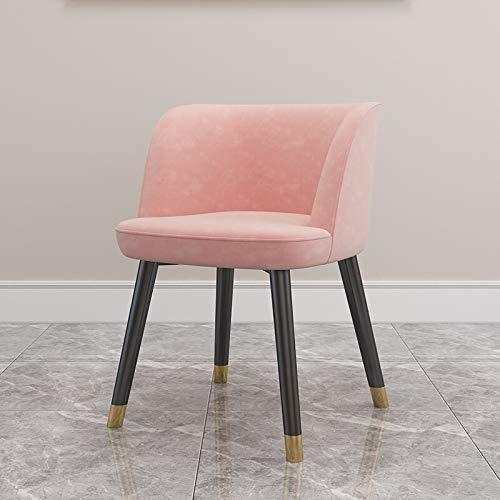 Y Dwayne Moderna Minimalista Sala Tavolo e Sedia Combinazione casa Tavolo e Sedia A (Color : Pink)