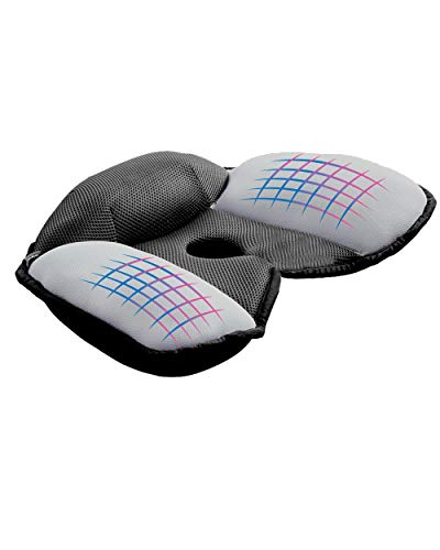 Casaviva Cojín para silla postural ortopédico y ergonómico de diseño japonés, alivia los dolores de espalda, coxis, antidecúbito, para oficina o para el coche