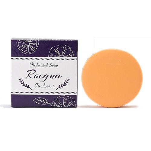 ロエグア ワキガ 体臭 石鹸 80g