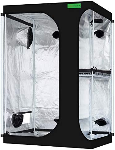 VIPARSPECTRA 2 in 1 48 x36 x72 Mylar Hydroponic Grow Tent with Observation Window and Floor product image