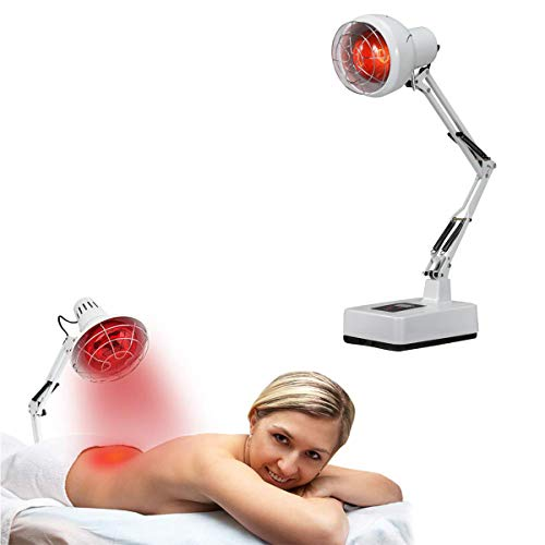 Why Should You Buy 150W Red Light Therapy Heat Lamp Set for Muscle Joint Pain Relief with Improve Sl...