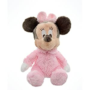 Disney Parks Exclusive Baby Minnie Mouse 9 Inch Long Pile Plush Rattle Doll by Disney 10