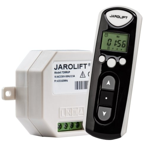JAROLIFT 1x Funkhandsender Timer 4-Kanal TDRCT 04 inkl. 1x Funkempfänger TDRRUP