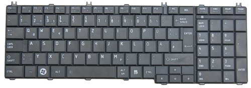 Original Tastatur Toshiba Satellite L770 Series DE Neu schwarz matt