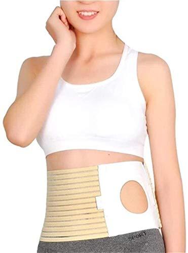 Ostomy Belt Transpirable Stoma Vendaje Suministro de la piel, reutilizable portátil Fácil de limpiar Colostomía (orificio 3.14') Soporte Hernia Estómago Truss Binder 2021220 (Size : Small)