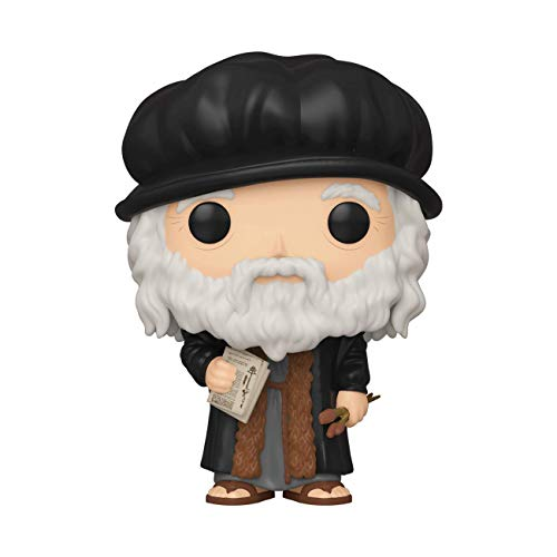 Funko- Pop Artists: Leonardo Davinci Collectible Toy, Multicolor (45251)