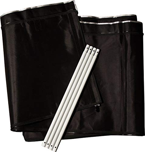 Gorilla Grow Tent | 2-Foot Extension Kit for Original and Shorty Line Grow Tents | 2-Foot by 2.5-Foot