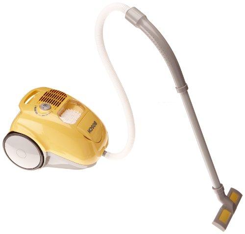 Theo Klein 6815 Bosch Staubsauger I Batteriebetriebene Saug- und Soundfunktion I Mit An- und Ausschalter, Drehknopf und entnehmbarem Staubbehälter I Maße: 55 cm x 20 cm x 63 cm