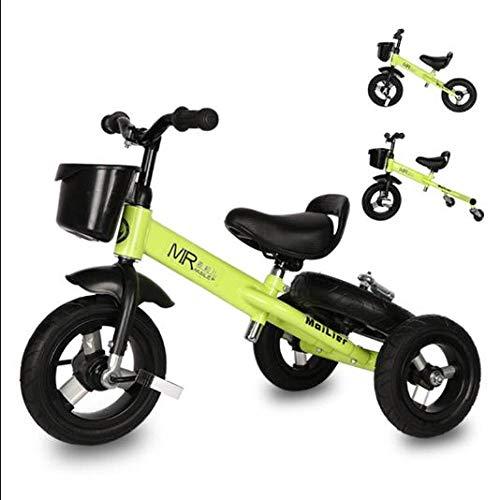MENGLJ Balance Auto Kinderfahrrad Mit Doppeltem Verwendungszweck Zwei In Einem 1-3-6 Jahre Alt 2 Rutschbaby Kein Pedal Kinder Rutschfahrrad