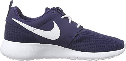 Nike Roshe One (GS) Zapatillas de running, Niños, Azul (Midnight Navy / White), 37 1/2