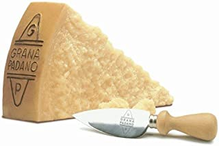 igourmet Grana Padano Stravecchio Oro del Tempo Aged 24 Months - Pound Cut (15.5 ounce)
