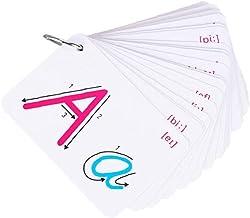 Barnens Alfabetkort Abc Flash Cards Brevigenkätskort Abc Lärande Leksak Alfabetkort För Spädbarn, Småbarn, Pre-k Och Kinde...