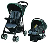 Graco LiteRider LX Travel System, Lightweight Pushchair & SnugRide 30 Infant Car Seat, Rille