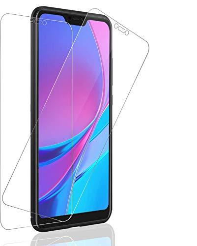 SNUNGPHIR Pellicola Vetro Temperato per Xiaomi Mi A2 Lite, Pacco da 2, Durezza 9H Resistenza Proteggi Schermo Compatibile con Xiaomi Mi A2 Lite, Anti-Impronte, Bordi Arrotondati 2.5D