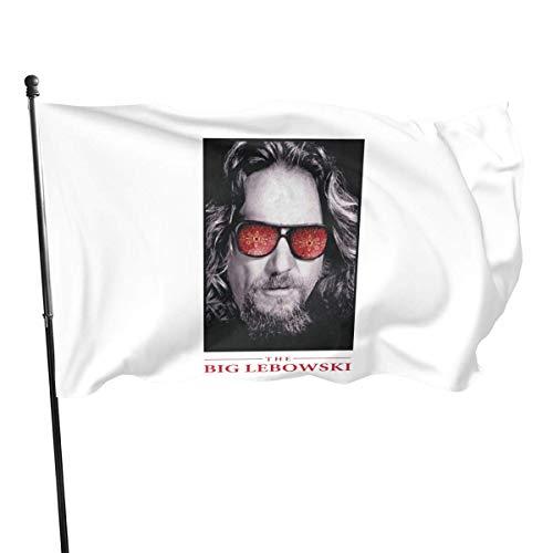 Unieek Die Big Lebo = Wski Flagge Lebendige Farbe und UV-Lichtbeständigkeit mit Messingösen 3 x 5 Fuß 3x5 '' Flagge