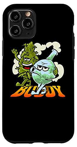 bud phone cases iPhone 11 Pro Bong And Marijuana Bud Bong Buddy Case