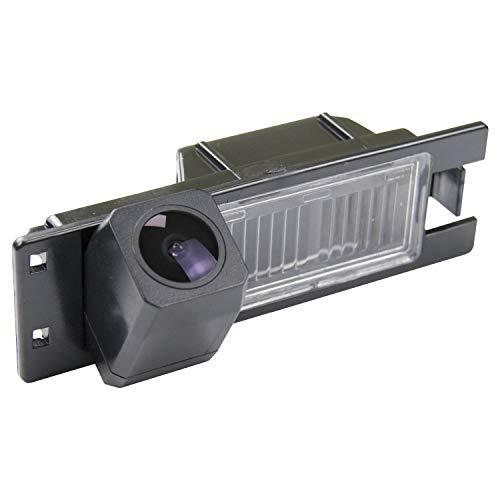 HD 1280x720p Kamera Wasserdicht Nachtsicht Rückfahrkamera Einparkhilfe Rueckfahrkamera kompatibel für Alfa Romeo MiTo AR Furiosa Opel Astra H/Corsa D/Meriva A/Vectra C/Zafira B/FIAT Grande