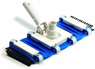 HydroTools by Swimline Weighted Flexible Pool Vacuum Head with Side Brushes