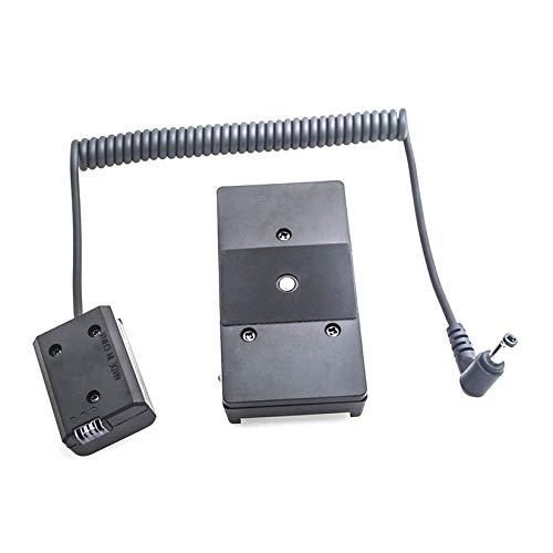 Wenwenzui-ES Netzteil NP-F970 NP-FW50 Dummy-Batterieplattenadapter Federkabel