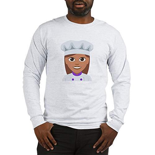 CafePress Female Cook Long Sleeve T Shirt Unisex Cotton Long Sleeve T-Shirt Ash Grey