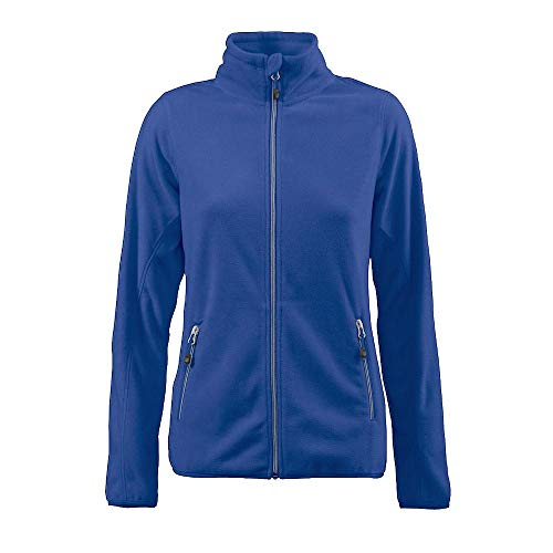 Printer - Sportliche Damen Fleece-Jacke 'Twohands Ladies' / blau (530), XL