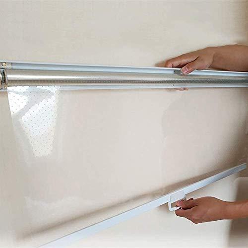 Gordijn van bamboe Persianas Enrollables Transparentes de Plástico, Cortinas Enrollables de PVC para Cocina y Baño con Accesorios, 80/100/120/140/150/160/180/200 cm de Ancho (Size : 150x200cm)